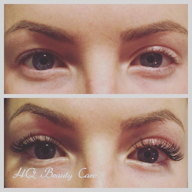 Beautiful 3D Volume Eyelash extensions