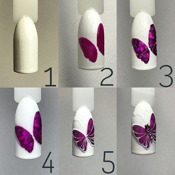 Butterfly Nail Art DIY Tutorial