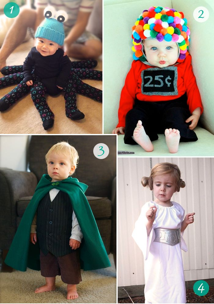 the Stork is Coming: 8 easy DIY Carnival costumes for babies and kids