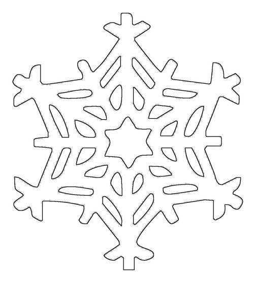 Schneeflocken Malvorlagen schneeflocken und sterne