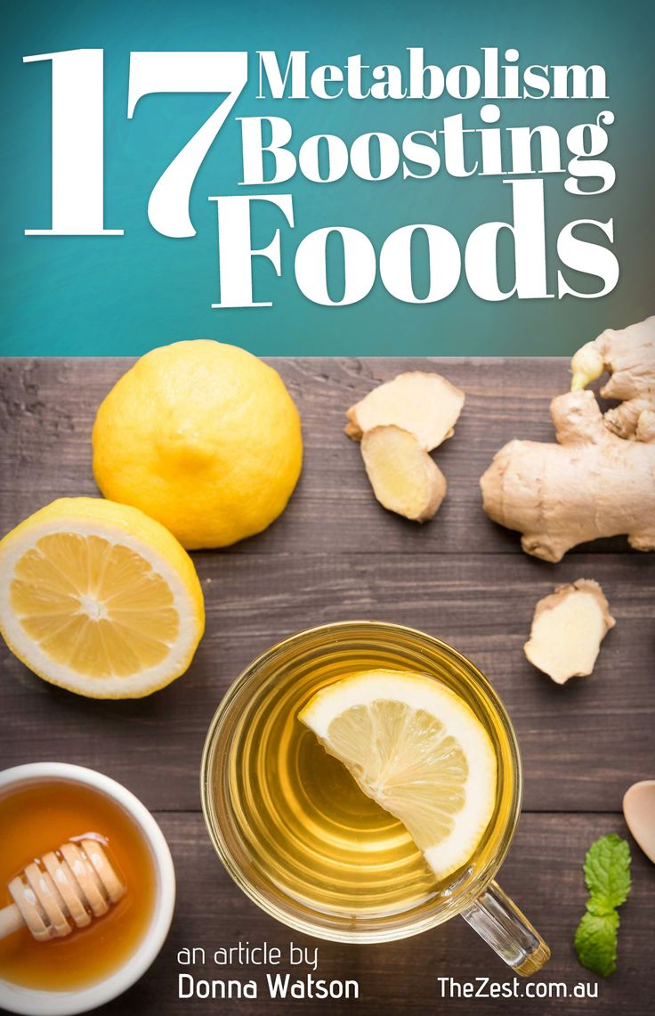 17 Metabolism Boosting Foods to rev up your energy http://www.thezest.com.au/article/?article=17-metabolism-boosting-foods/