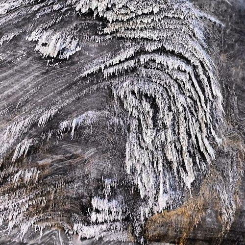 This is not snow... It's salt! - Turda salt mine, Romania