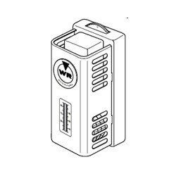 White Rodgers 151-6 Line Voltage Cooling Only Thermostat