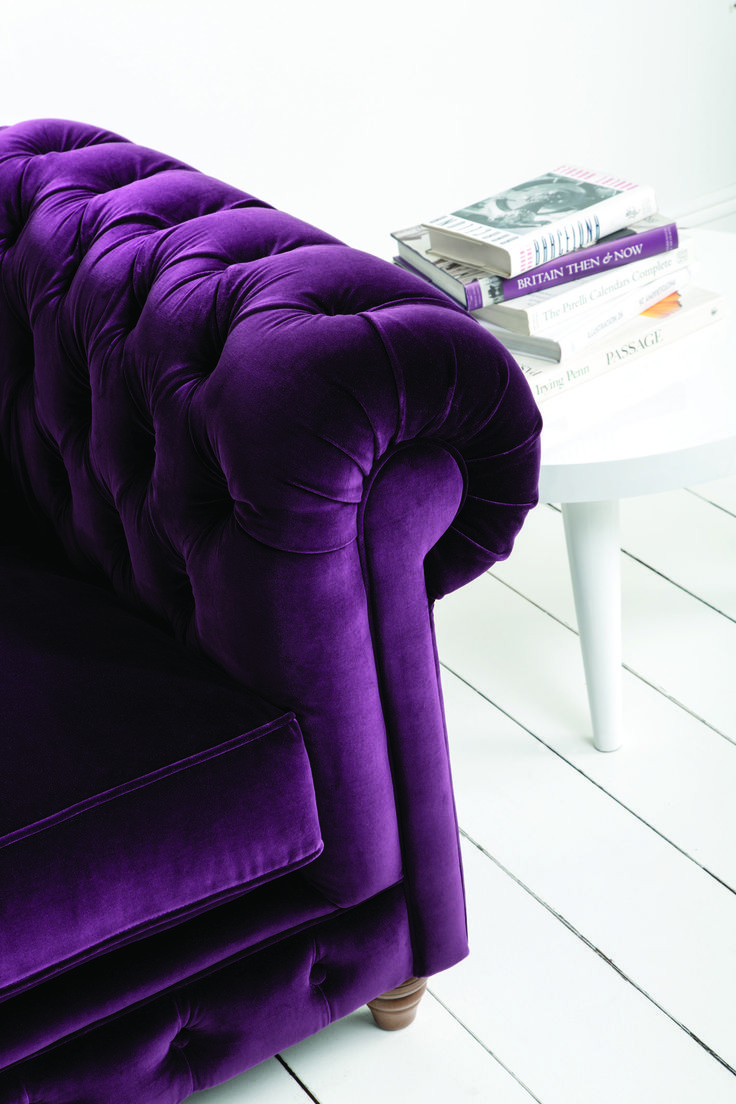Couch Bronte Sofa in Amethyst - www.couch.co.uk
