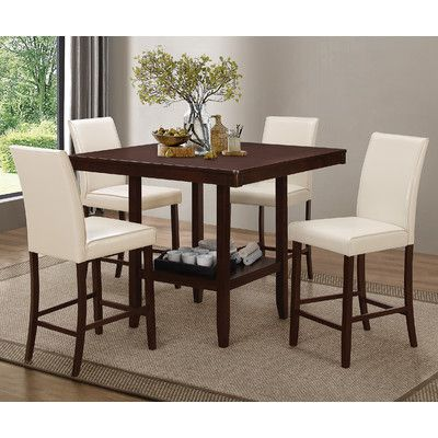 Coaster Furniture Fattori Counter Height Dining Table