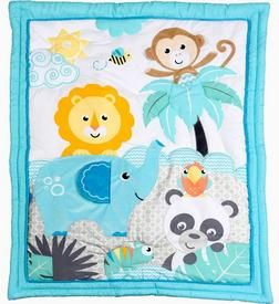 """Buy """"Play All Day"""" 6 Piece Crib Bedding Set Online & Reviews"""