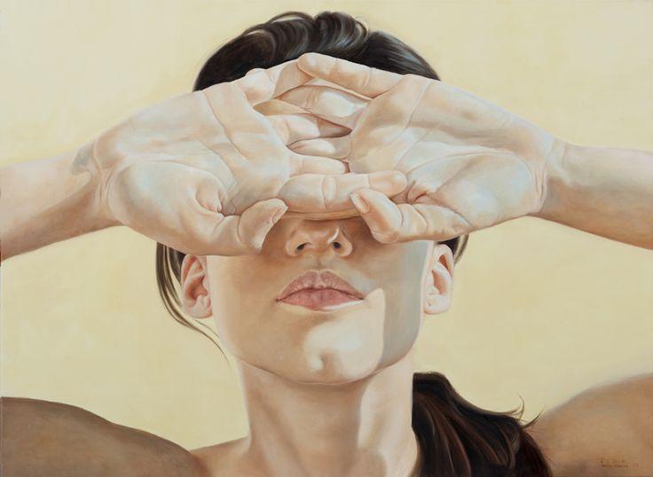 deadsymmetry:  Perla Fuertes: Fuertes Spain, Painting Portraits, A Art Painting, Portrait Art, Portrait Paintings, Art Ideas, Perla Fuertes, Sense Of