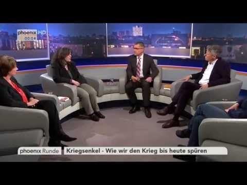 """""""Kriegsenkel - wie wir den Krieg bis heute spüren"""" - phoenix Runde vom 07.05.2015 - YouTube"""