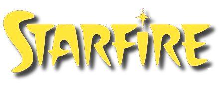 Image result for starfire comics logo