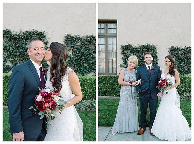 Bride and Groom with parents | Brooke Bakken BlogEBell Club Wedding | Jen + Josh | Long Beach California Photography