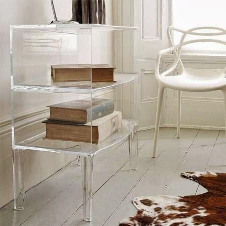 """Interior Design: """"Ghost"""" furniture In Lucite Lux®"""