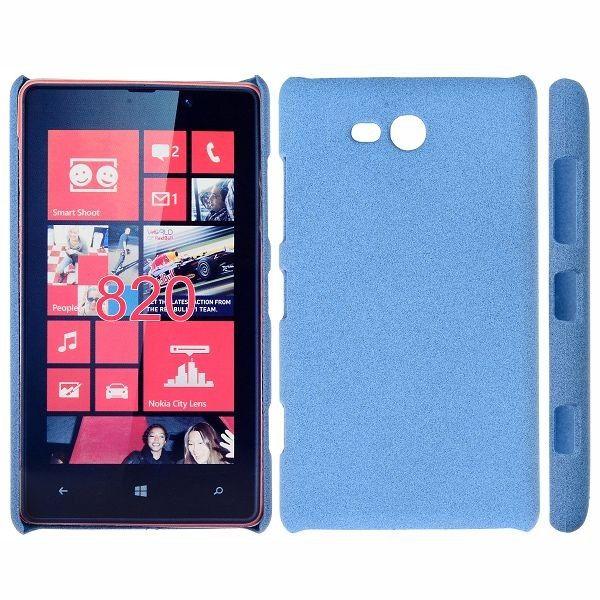 RockSand (Blå) Nokia Lumia 820 Deksel