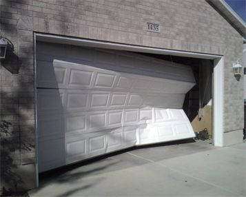 14 Best Damaged Garage Doors Images On Pinterest