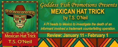 New #giveaway alert!! Come check out Mexican Hat Trick by T.S. O'Neil - Book Tour - Review - Giveaway @goddessfish  Fabulous and Brunette: Mexican Hat Trick by T.S. O'Neil - Book Tour - Rev...