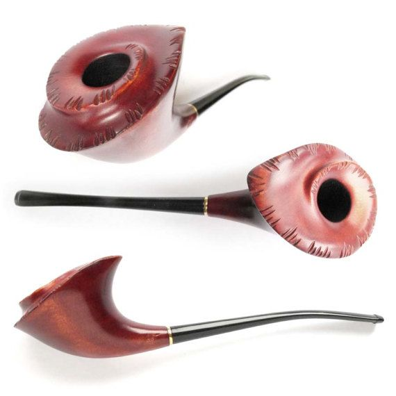 Tobacco Smoking Pipe  FLW. Handcrafted Wooden от Tobaccopipesshop