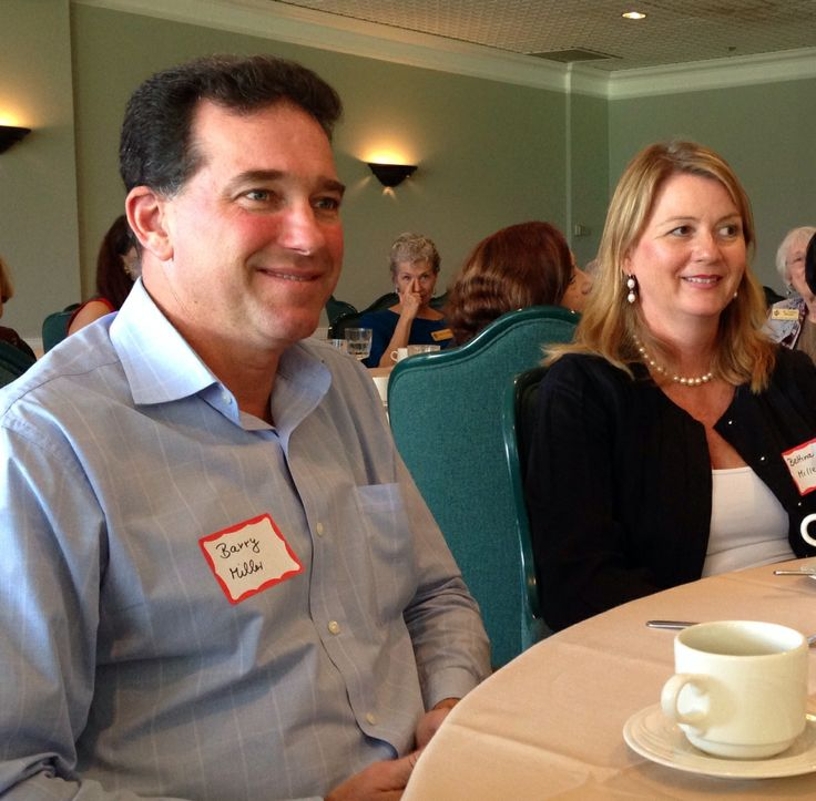 Barry  & Bettina Miller  at the Sister Cities Perpignan luncheon at the SaraBay Country Club iNovember 4, 2013