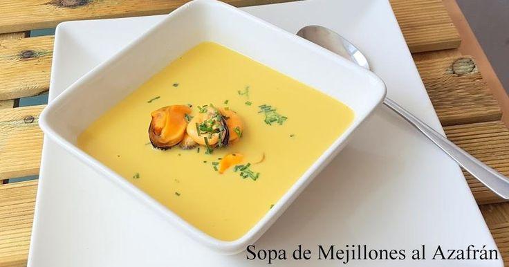 Sopa de mejillones al azafrán: una receta de 10 para Navidad