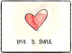 el amor es simple by jopi