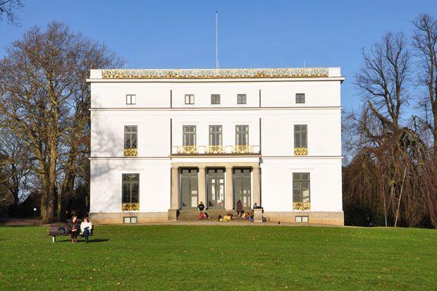 Hamburg Elbfront Jenisch-Haus