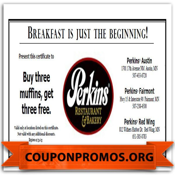 graphic relating to Perkins Restaurant Printable Coupons named Perkins printable discount coupons : Home furnishings condominium fayetteville nc