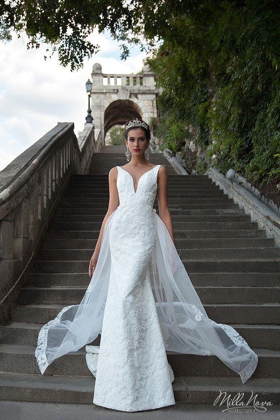 noiva vestido de noiva 2016 milla nova casamento casar renda