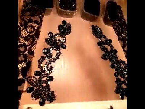 Люневильская вышивка от Виктории Бойко - YouTube