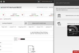 AlgoFX Account Management beim regulierten Broker