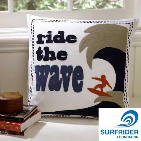 for my surfer guy's room...benefits surfrider foundation too!  Cool!