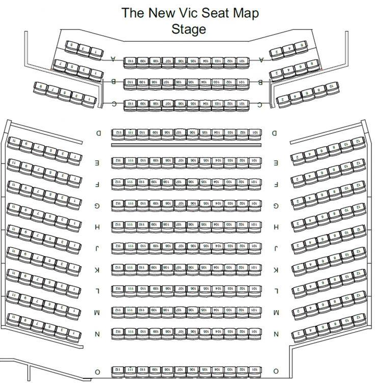 elegant young vic seating plan seating plan template