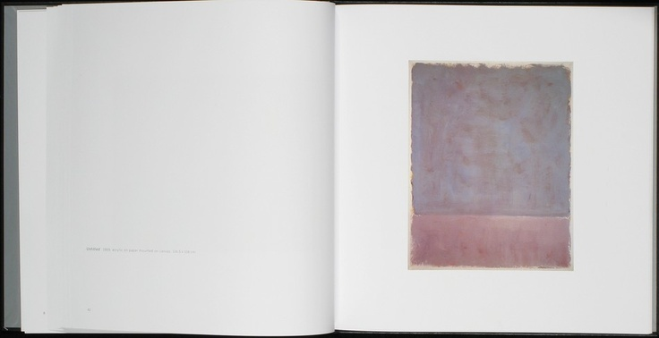 Rothko / Sugimoto. Dark Paintings and Seascapes.