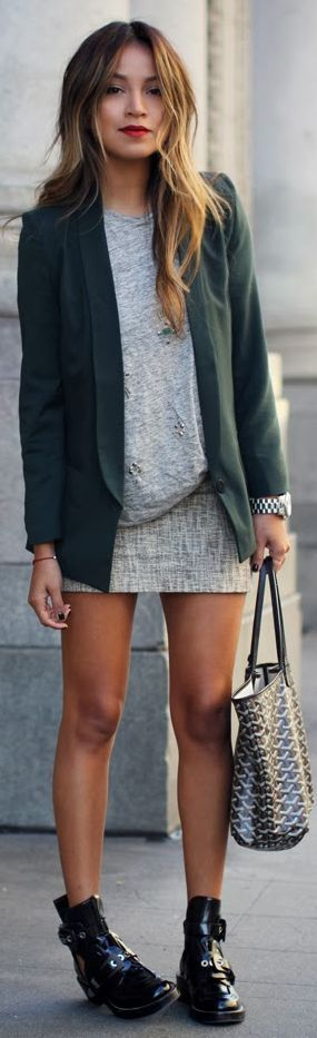 Fashionista: Street Style:So Beautiful   More outfits like this on the Stylekick app! Download at http://app.stylekick.com
