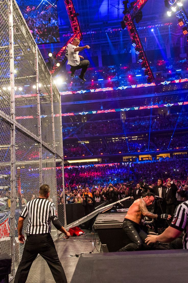 WrestleMania 32: The Photos Behind the Madness   GQ