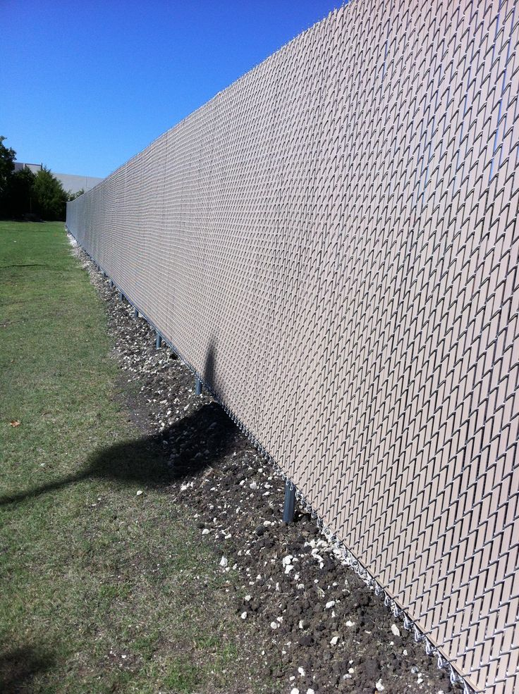 25 Best Chain Link Fence Supplies Ideas On Pinterest