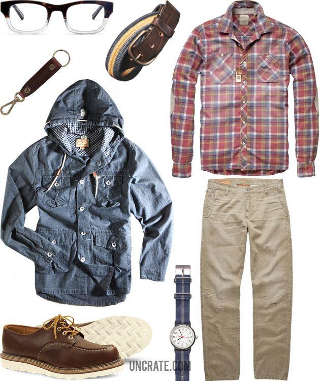 GARB: WORN IN, stylish weekend wear.