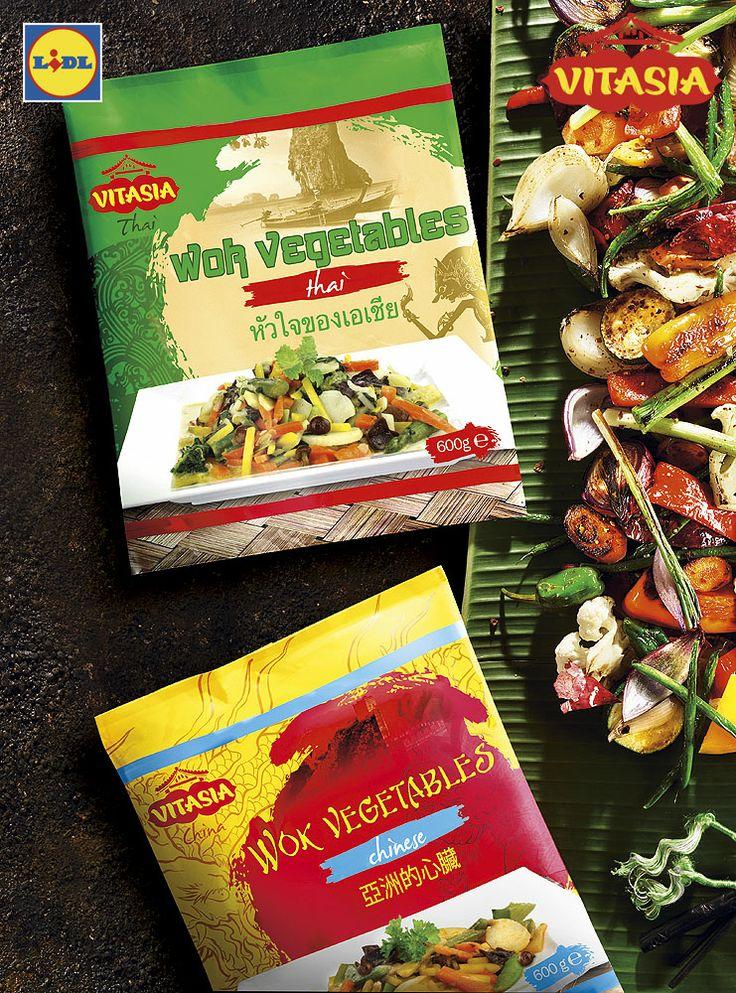 Warzywa do WOKA #lidl #vitasia #warzywa #wok