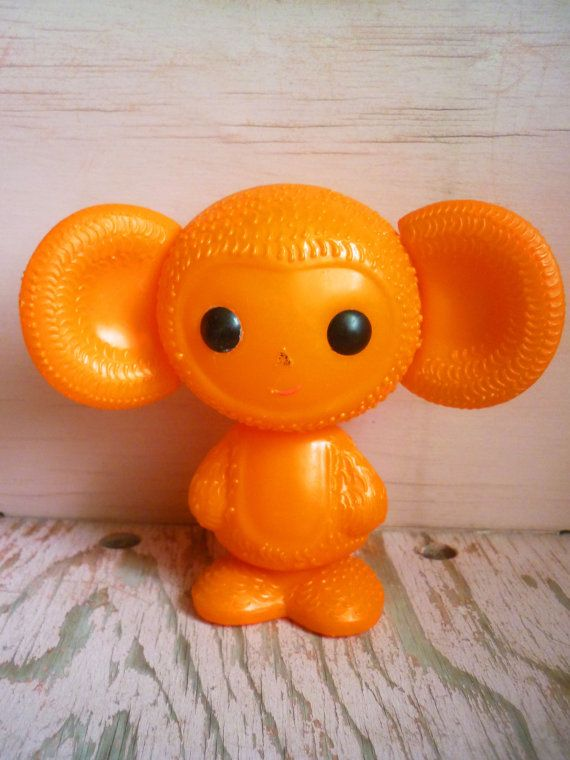 Cheburashka antique toy Soviet vintage by CuteVintageRu on Etsy