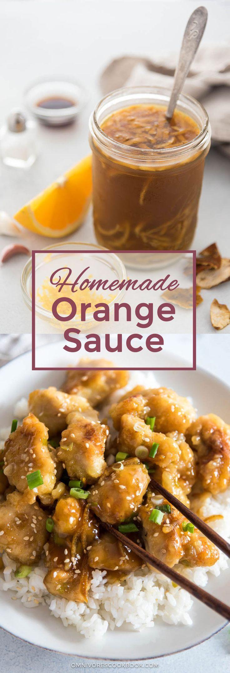 Best 25 orange chicken sauce ideas on pinterest tasty orange homemade orange chicken sauce oriental recipesoriental foodchinese forumfinder Gallery