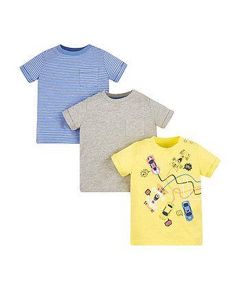 1ba548ad8 racing cars t-shirts - 3 pack | Boy Spring/Summer Capsule | Pinterest