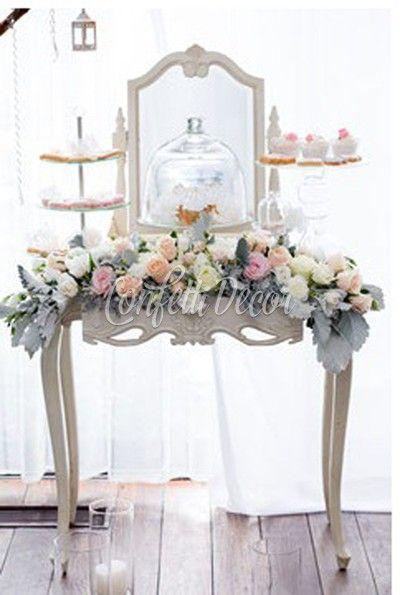 Столик для кенди-бара/фотозоны   Конфетти Декор