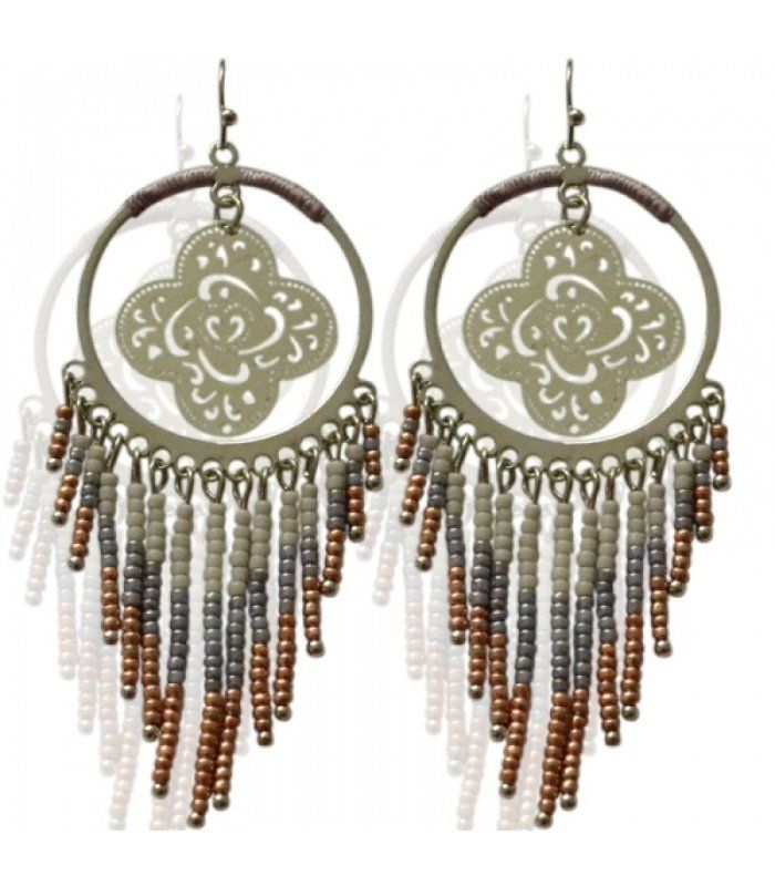 Paarse dromenvanger oorbellen. Lengte van de oorbel is 10 cm|Dromenvangers oorbellen koop je online|Snelle verzending