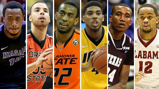 From left, Antoine Mason, Roberto Nelson, Markel Brown, Roy Devyn Marble, Aaric Murray and Trevor Releford.underrated players in college basketball