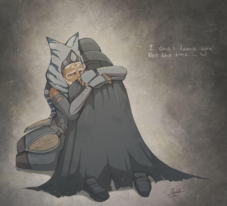"""""""¡No voy a abandonarte! No ésta vez."""" Tantas emociones en ella..."""