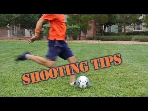 *Soccer Shooting ~ How to Shoot a Soccer Ball with Height - Online Soccer Academy - YouTube