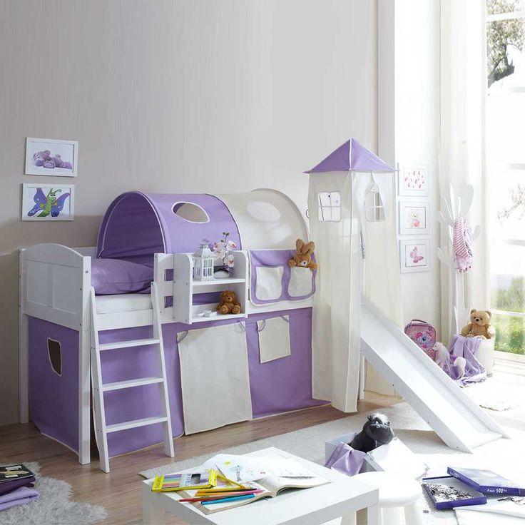Die besten 25+ Kinderhochbett mit rutsche Ideen auf Pinterest ... | {Kinderhochbett mit rutsche 64}