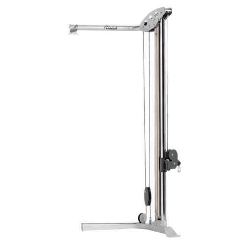 The V Hi-Lo Pulley has 35 separate pulley positions designed to perform a vast array of upper and lower body exercises. To make it easy to move from one exercise to another, the counter balance pulley combined with a unique integrated adjuster system provides smooth and easy one-handed adjustments.