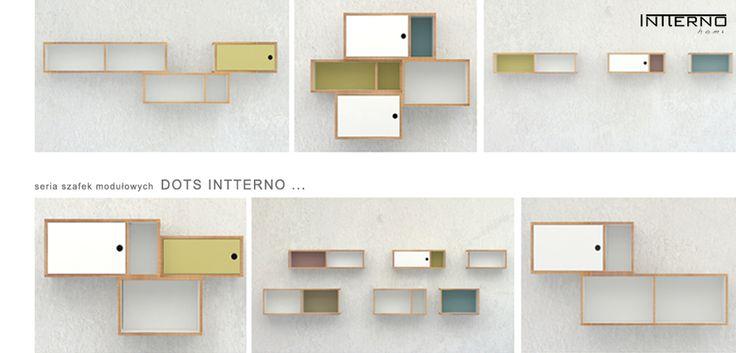 szafki ze sklejki #Intterno #plywoodshelves