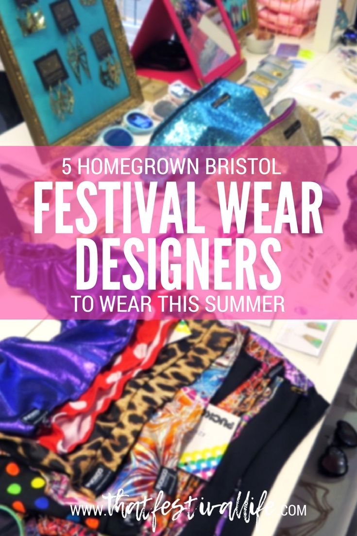 5 homegrown Bristol festival wear brands to look out for this summer: Festival Fashion Showcase at That Thing
