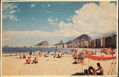 Rio De Janeiro, Vintage Post card