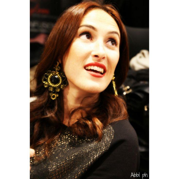 Mercantia earrings - dress Mariuccia Milano - make up by Compagnia della Bellezza