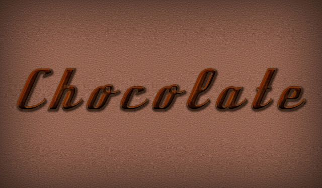 GraphicDesignFun: Create Yummy Chocolate Brown Text Effect in Photos...